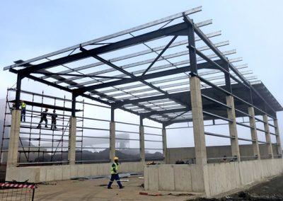 Assmang CRA shed – Steel