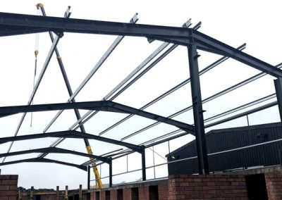 Assmang New Workshop – Steel