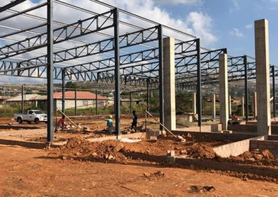 Mbali Shopping Centre – Steel