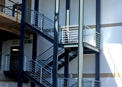 PMAS staircases – Steel