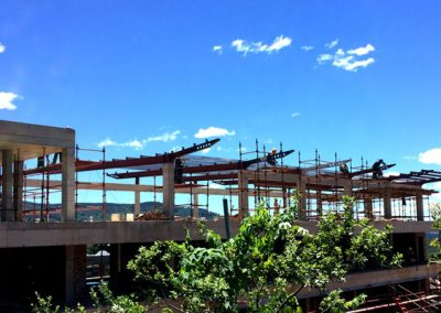 VCCE Roof Structure – Steel